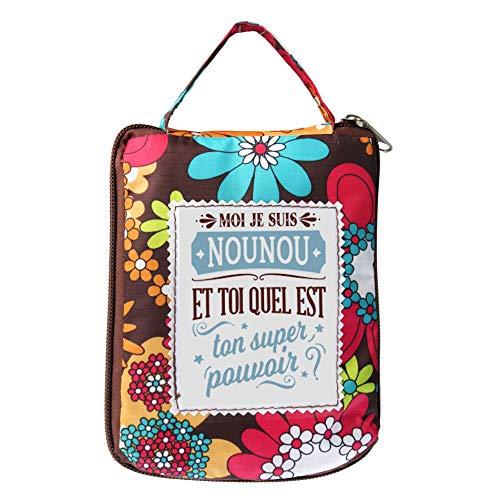 LES PETITES NANAS - Sac shopping personnalisé NOUNOU - 04221000010