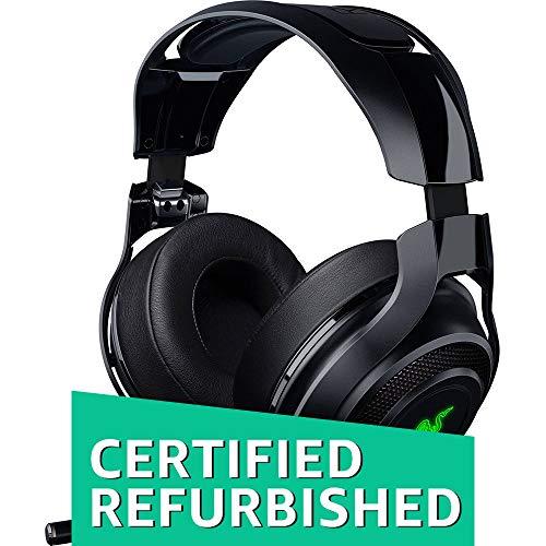 Razer Mano`War Wireless 7.1 Surround Sound Chroma Headset Black (Renewed)