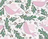 Weihnachtstauben und Beeren – Vögel ~ Frieden auf Erde,