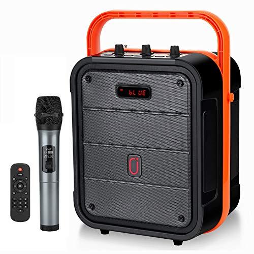 JYX Karaoke Machine with Wireless Microphone, Karaoke Speaker Support...