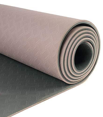 Yogamatte Yin Yang Earth Yoga Gymnastik Matte 183 cm x 61 cm x 0,6 cm