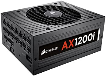 Corsair AX1200i 80 PLUS 1200W Platinum Certified Digital Power Supply