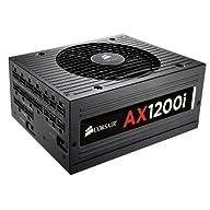 CORSAIR AXi Series, AX860i, 860 Watt, 80+ Platinum Certified, Fully Modular - Digital Power Supply