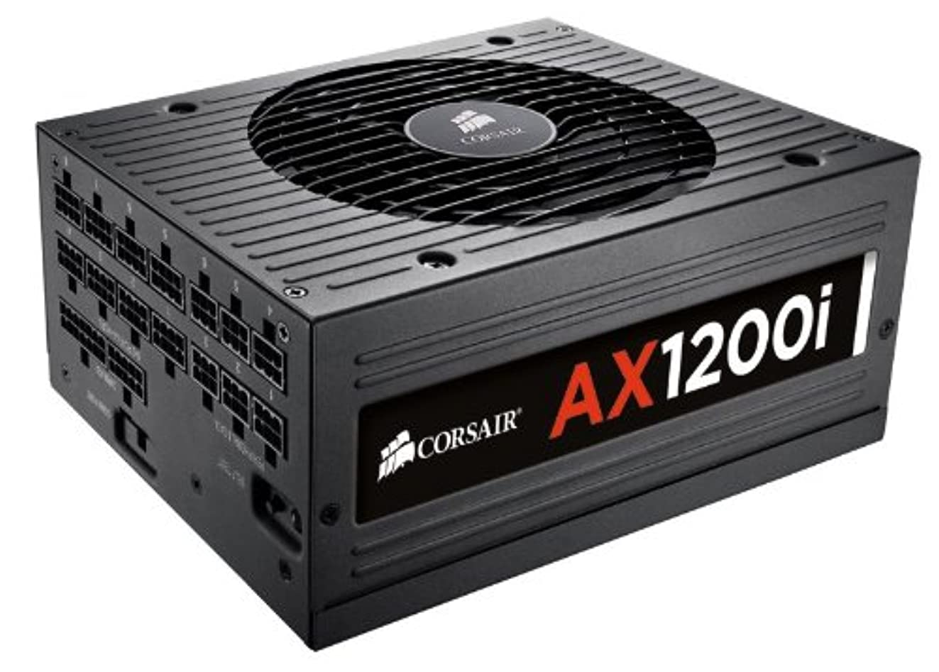 CORSAIR AXi Series, AX1200i, 1200 Watt, 80+ Platinum Certified, Fully Modular - Digital Power Supply
