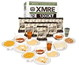 XMRE 1300XT Freshly Packed in the Past 60 Days MRE Meals Ready to Eat. 12 Meals per Case. Includes...