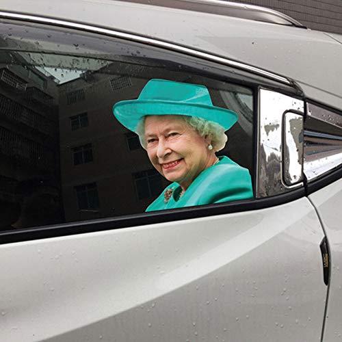 Yves25tate lustig autoaufkleber Autofenster Aufkleber - 32 25 cm - Queen Elizabeth, Papst Franziskus, Nonne, Ruth Bader Ginsburg