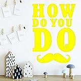 Ajcwhml Exquis Comment Faire la décoration de la Chambre des Enfants Stickers muraux...