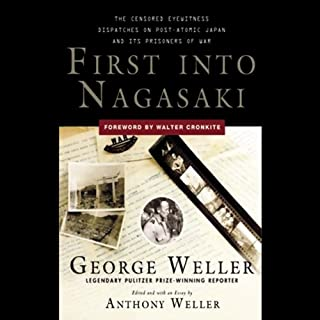 First into Nagasaki audiobook cover art