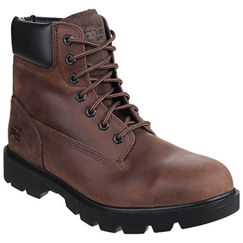 Timberland Sawhorse Brown Lace up Safety Boot - 8UK