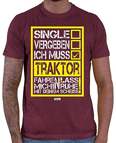 Hariz - Camiseta para hombre, diseño con texto en alemán