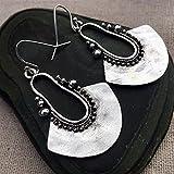 Yongpeng Antique decor Vintage Antique Metal Drop Earrings for Women Punk Jewelry Handmade (Metal Color : 9)