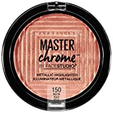 MAYBELLINE FaceStudio Master Chrome Metallic Highlighter - Molten Peach