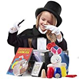 Prextex Kiddie Magician Role Play Costume and Tricks Set for Kids - Pretend