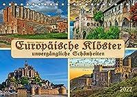 Europaeische Kloester - unvergaengliche Schoenheiten (Tischkalender 2022 DIN A5 quer): Ob in Ruinen oder in ganzer Pracht, Klosteranlagen sind immer imposant und beeindruckend. (Monatskalender, 14 Seiten )