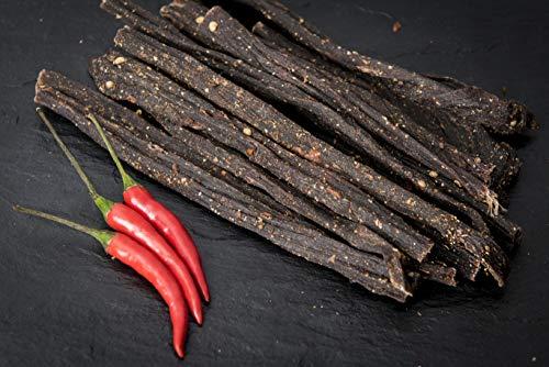 Biltong - 500g - Chilli Bites - Proteinreicher Snack aus Rind