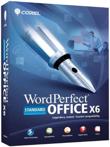 Cheapest Corel Wordperfect Office X6 Professional Edition