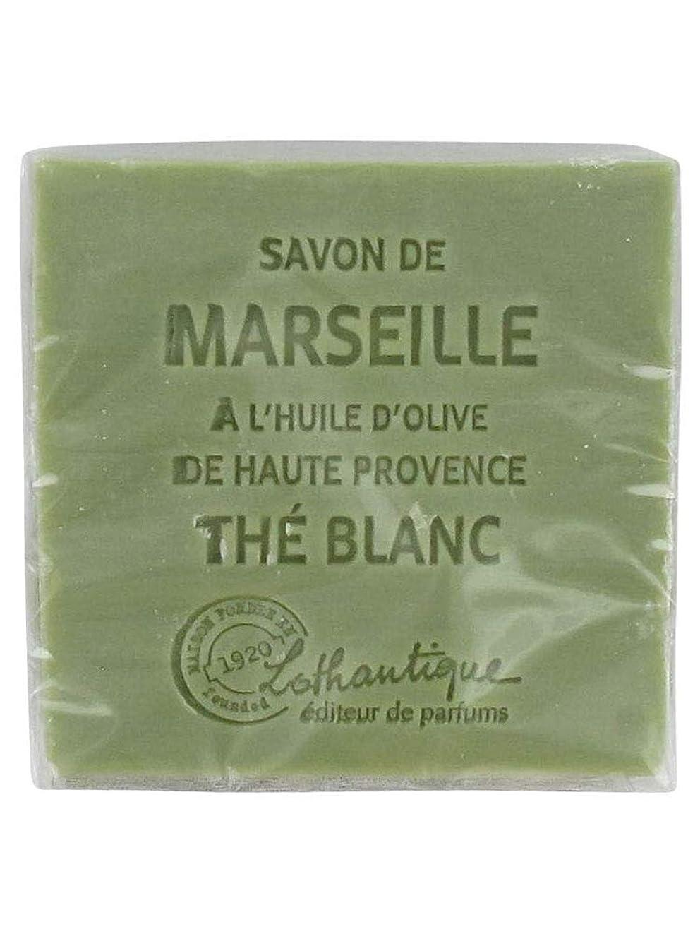 入場料ロッカーウサギLothantique(ロタンティック) Les savons de Marseille(マルセイユソープ) マルセイユソープ 100g 「ホワイトティー」 3420070038036