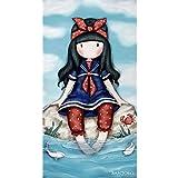 Textil Tarragó Gorjuss Toalla de Playa, Algodón, Azul, 75 x 150 cm