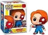 ELSVTECH ¡Popular! Chucky 3: Chucky (Edición Especial) Figura Coleccionable de la Serie clásica de p...