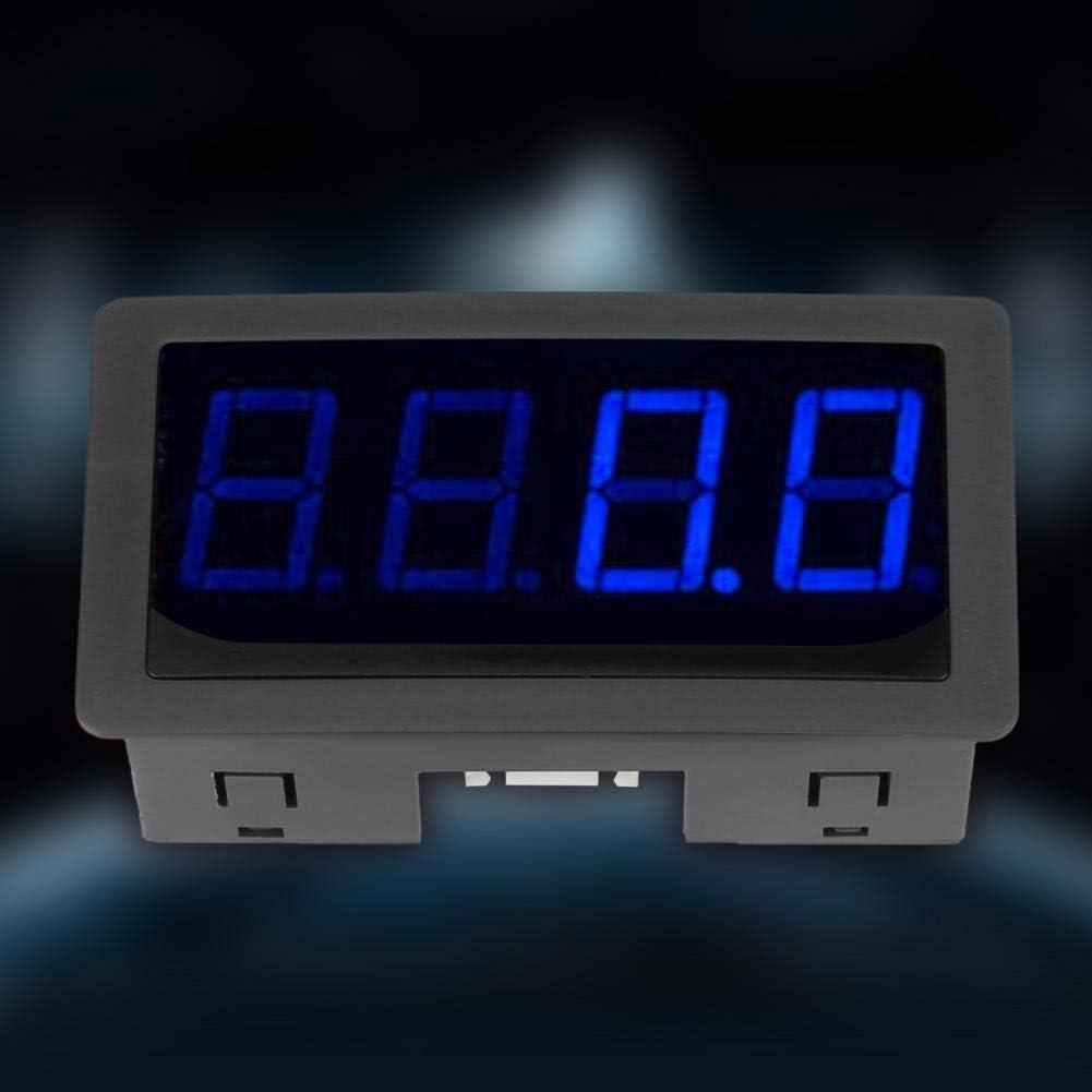 4 Digital Red//Blue LED Tachometer RPM Speed Meter+Hall Proximity Switch Sensor NPN Industrial Tachometers Blue