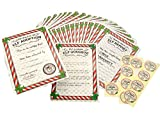 Elf Adoption Certificate, Report Notepad, Reward Stickers & Letter Welcome Kit (Use on Shelf)