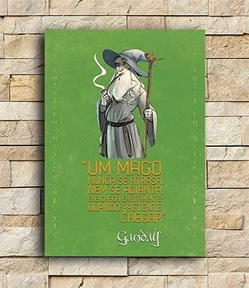 Placa Decorativa Gandalf - Pequena