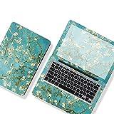 DIY CUBIERTA DE HOJA DE LA HOJA DE LA HOJA POR Laptop Pegatina para el cuaderno de la piel 12/13/14/15/17 pulgadas Phord Phip D-E-L-L-O-O-K Laptop D-E-L-O-O-O Etc Laptop