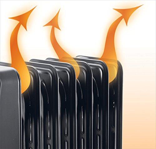radiant oil heater