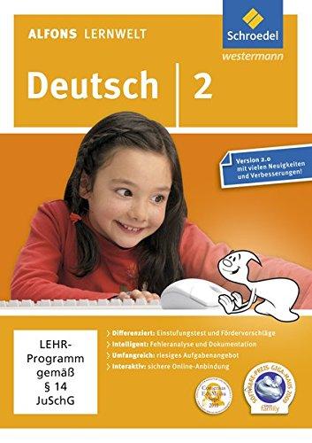 Alfons Lernwelt Deutsch 2 Einzelplatzlizenz