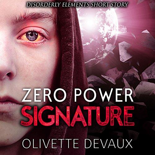 Zero Power Signature audiobook cover art