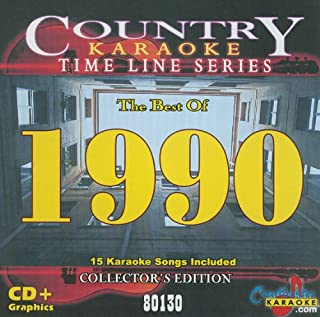 Country Karaoke Time Line Series The Best of 1990 CB80130