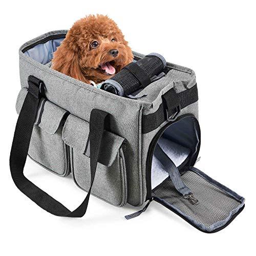 HAPPY HACHI Bolsa Mascotas Perro Gato Viaje Transporte
