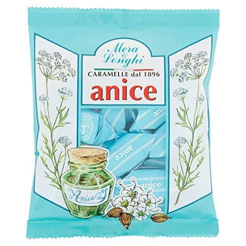 Mera & Longhi Caramelle Quadre Anice - 160 g