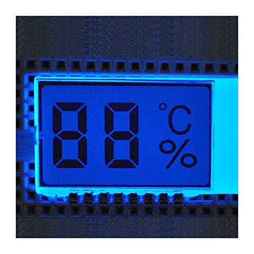 2 Bit Temperatur Luftfeuchtigkeit LCD Digital Display Modul Nixie Rohr 30 * 21 * 2,8mm GDC21310 LCD Bildschirm 3,0 V Für Thermometer Hygrometer