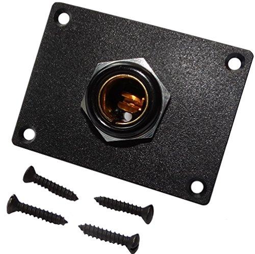 AERZETIX: Prise Ø13mm à encastrer fiche Femelle pour Allume-Cigare 12V 24V 16A Auto/Moto Voiture C14620