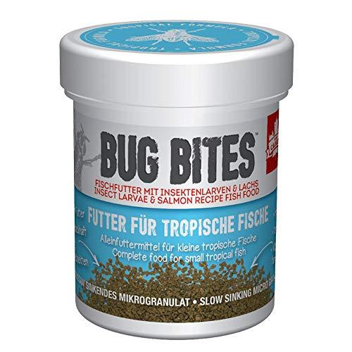 Fluval Bug Bites Alleinfutter für Süßwasserfische, S-L, 1er Pack (1 x 45 g)