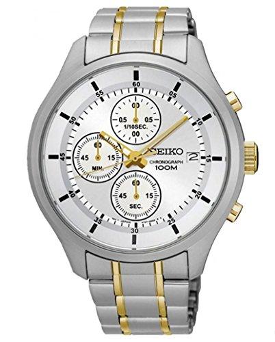 Seiko Cronografo Quarzo Orologio da Polso SKS541P1