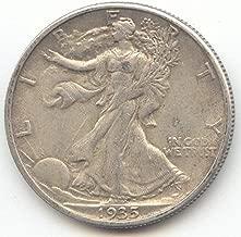 1935 S Walking Liberty Half Dollar Choice Extra Fine