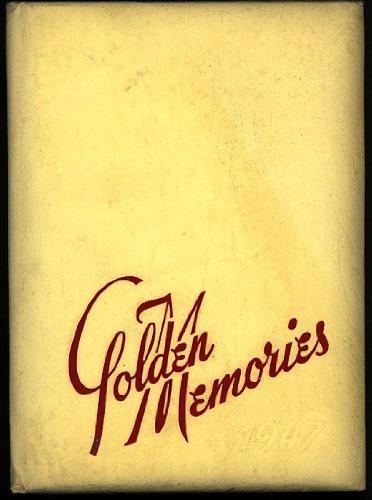 'Golden Memories' Decatur Senior High School Yearbook Annual 1947 Alabama