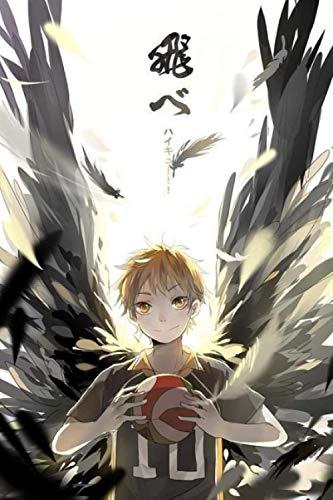 Steno Notebook FlY: Haikyuu Anime - Idea Organizer - Anime Notebook - 6x9 Journal - 120 pages