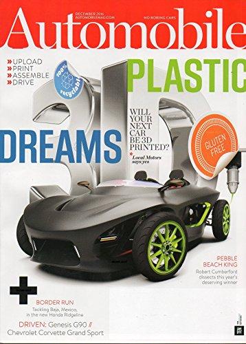Automobile 2016 Magazine 2017 CHEVROLET CORVETTE GRAND SPORT Genesis G90 FOUR SEASONS VOLKSWAGEN E-GOLF WRAP & BMW 13