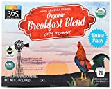 365 Everyday Value, Organic Breakfast Blend Coffee Capsules, 24 ct