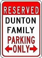 金属サインダントン家族駐車場ノベルティスズストリートサイン