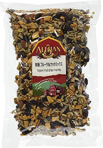 無添加 オーガニック フルーツ&ナッツミックス 1kg ★ レターパック赤 ★米国産の海外認定ドライフルーツ&ナッツをミックス。一袋で様々なミネラルが摂れる優れものです