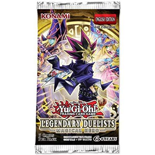 4 yugioh LEGENDARY DUELIST -MAGICAL HERO- PACKS- First Edition