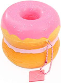 Cafe de N Pink scented croissant donut squishy