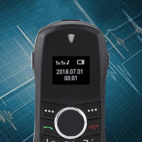 CHENGGONG Teléfono móvil inalámbrico, Mano de Obra Exquisita Reproductor de Video en Varios Idiomas Mini teléfono móvil, para el hogar de Mediana Edad y Ancianos con Regalo Hombre de Negocios