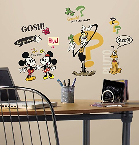 RoomMates 27 Stickers Mickey Mouse et Ses Amis Disney Classic