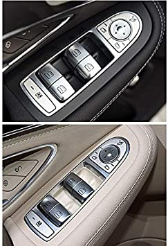 Cavis Car Interior Window Glass Lifter Button Switch for Mercedes C Class W205 C180 C200 C260 C300 C63 W204 2