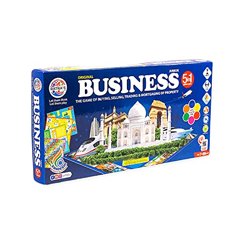 ONCEMORE Business 5 in 1 Board Game